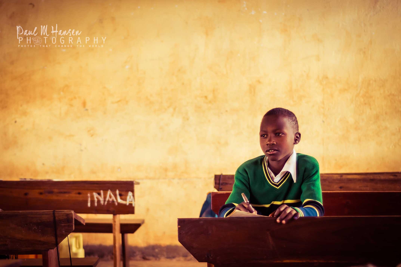 Village School Student